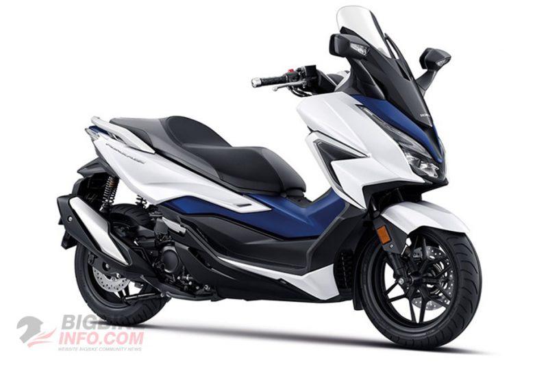 Honda Forza 350 ฮอนด้า ฟอร์ซ่า 350 2020 สีขาว-น้ำเงิน