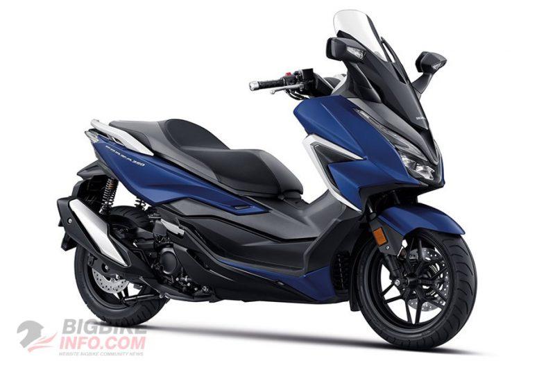 Honda Forza 350 2020 สีน้ำเงิน-ดำ