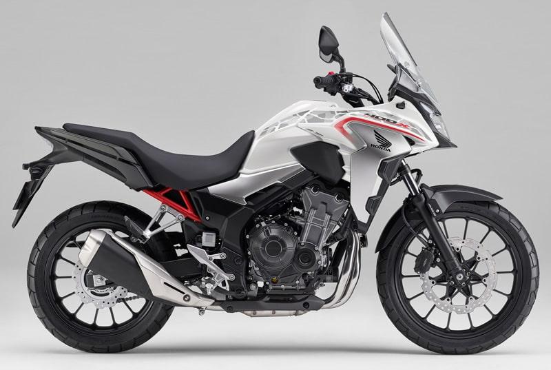 ฮอนด้า 400X 2020 สีใหม่ Pearl Glare White