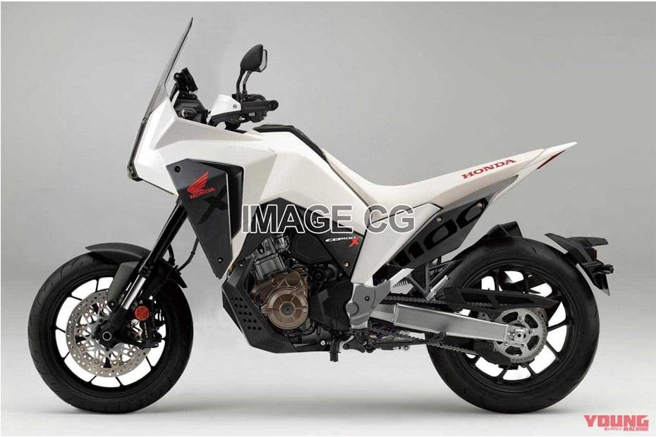 เผยภาพร่าง Honda CRF1100X การออกแบบที่น่าสนใจ