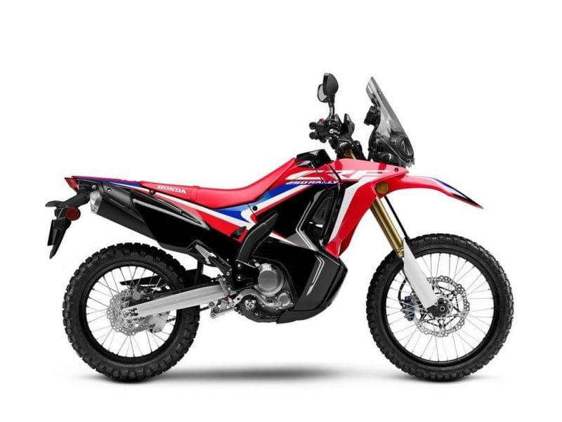 Honda ลุ้นพัฒนาซอฟแวร์ใหม่ ฮอนด้า CRF250L Rally 2020