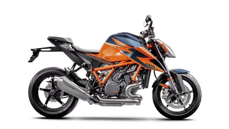 เคทีเอ็ม 1290 SUPER DUKE R โมเดลใหม่ 2021 สีส้ม-น้ำเงิน
