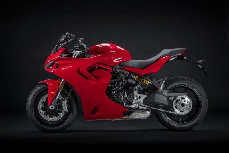 เตรียมผลิต ดูคาติ SuperSport 950 2021 สีแดง