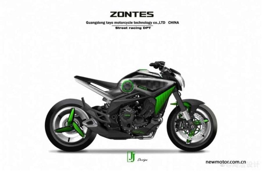 คาดพัฒนา Zontes เครื่องยนต์ 800 ซีซี รุกตลาดคู่แข่ง MT-09