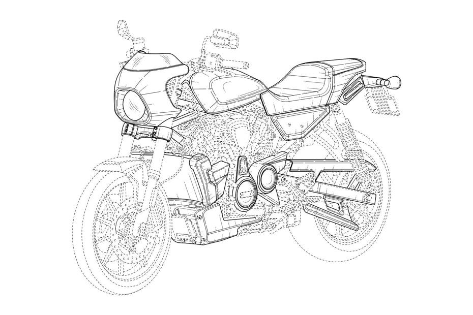 เผยสิทธิบัตรใหม่ Harley-Davidson Racer และ Flat Tracker