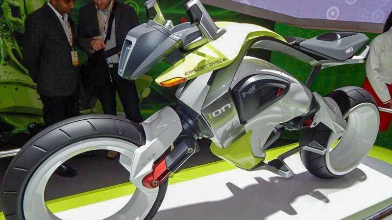 แนวคิดการออกแบบ Hero MotoCorp