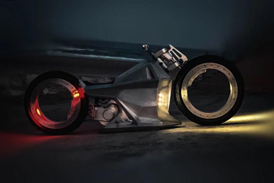 แนวคิด Chopper จักรยานยนต์ไฟฟ้าแห่งอนาคต โดย Ballistic Cycles