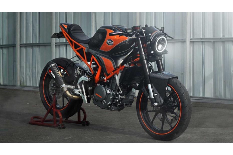 แปลงโฉม KTM RC250 สไตล์จักรยานยนต์รถแข่งที่ย้อนยุคคมชัดโดย MCM