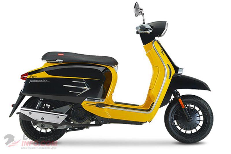 Lambretta V200 Stype สีเหลือง-ดำ