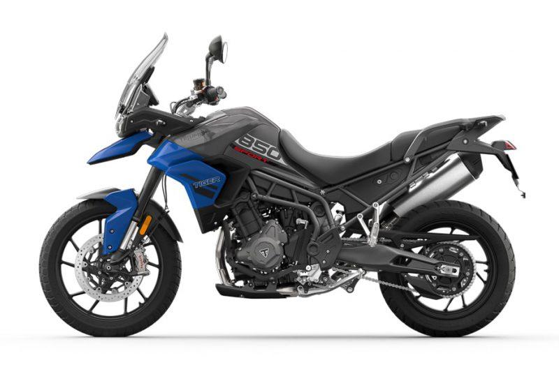 ไทรอัมพ์ Tiger 850 Sport ปี 2021 สีน้ำเงิน