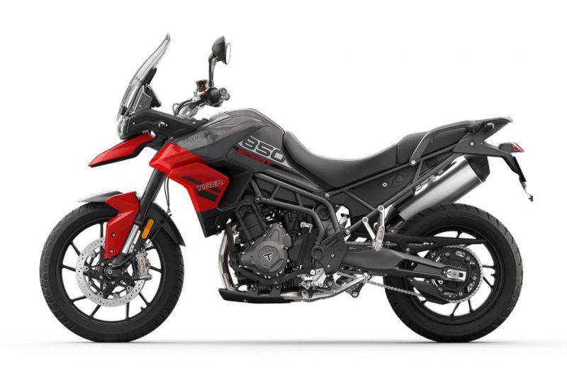 ไทรอัมพ์ Tiger 850 Sport ปี 2021 สีแดง