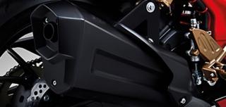 ไฟหน้า จีพีเอ็กซ์ Demon GR200R 2020 ท่อไอเสีย