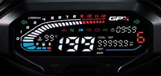 ไฟหน้า จีพีเอ็กซ์ Demon GR200R 2020 หน้าปัดเรือนไมล์