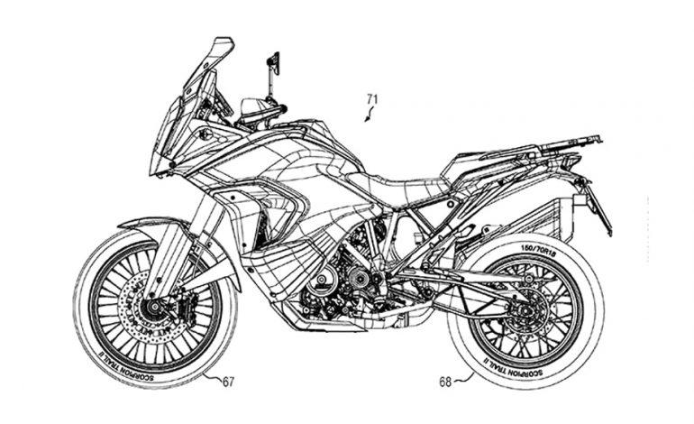 เผยภาพสิทธิบัตร KTM 1290 Super Adventure R และ S 2021 ที่น่าสนใจ