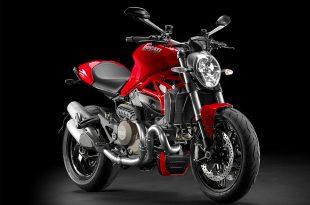 ภาพ Ducati Monster 1200 สีแดง ด้านหน้า