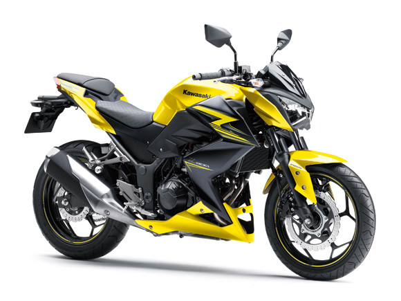 Kawasaki Z300 สีเหลืองดำ ปี 2014