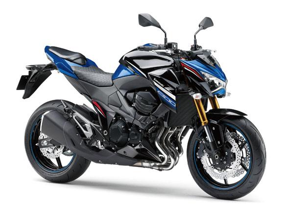 Kawasaki Z800 สีน้ำเงิน