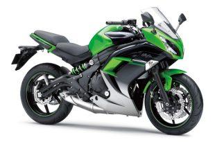 ภาพ Kawasaki Ninja 650 ABS สีเขียว