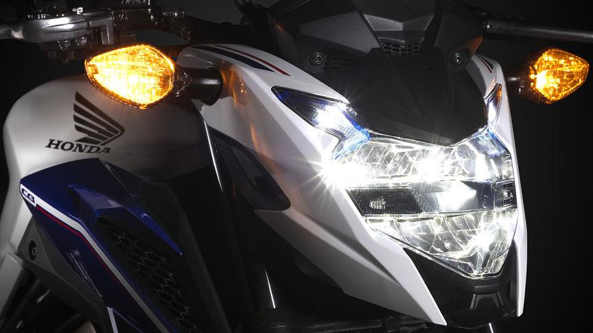 ภาพ Honda cb650f ไฟหน้า