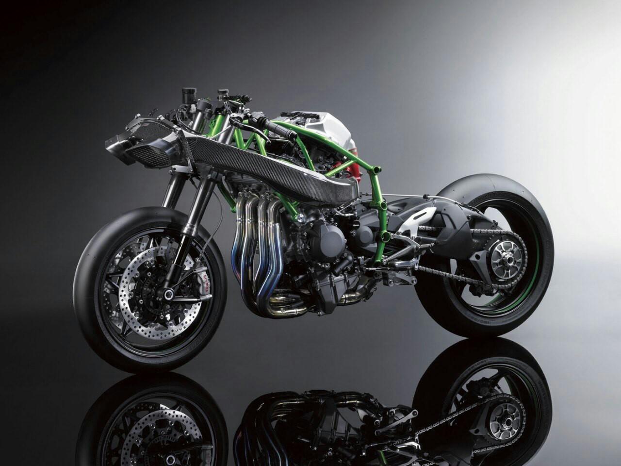 โครงสร้างภายใน Kawasaki Ninja H2R