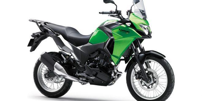 ภาพ Kawasaki Versys-X 300 สีเขียว
