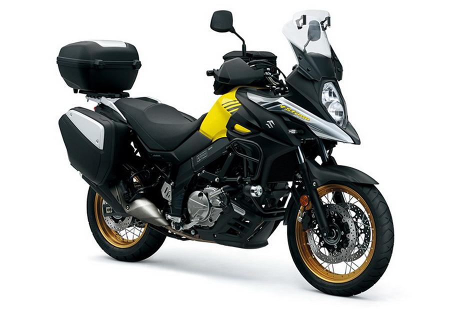 Suzuki V-Strom 650XT ABS สีเหลือง