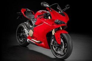ภาพ Ducati 1299 Panigale สีแดง ด้านหน้า