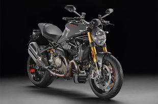 ภาพ DucatiMonster 1200 S สีเทา ด้านหน้า