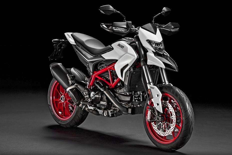 ภาพ Ducati Hypermotard 939 สีขาว ด้านหน้า
