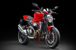 ภาพ Ducati Monster 1200 R สีแดง ด้านหน้า