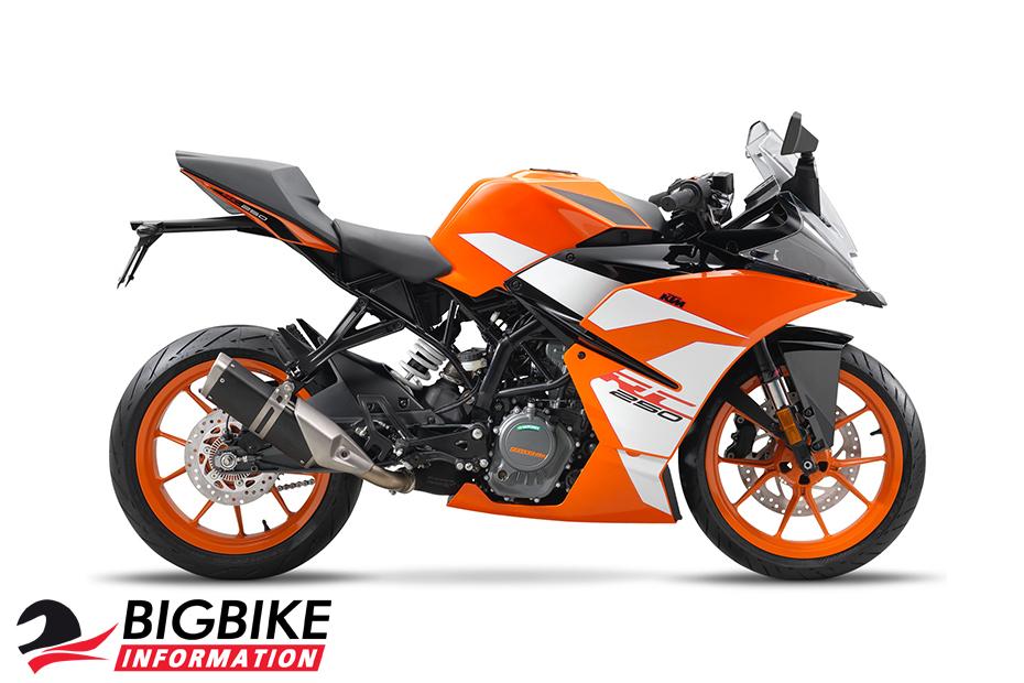 KTM RC250 ปี 2017 สีส้ม