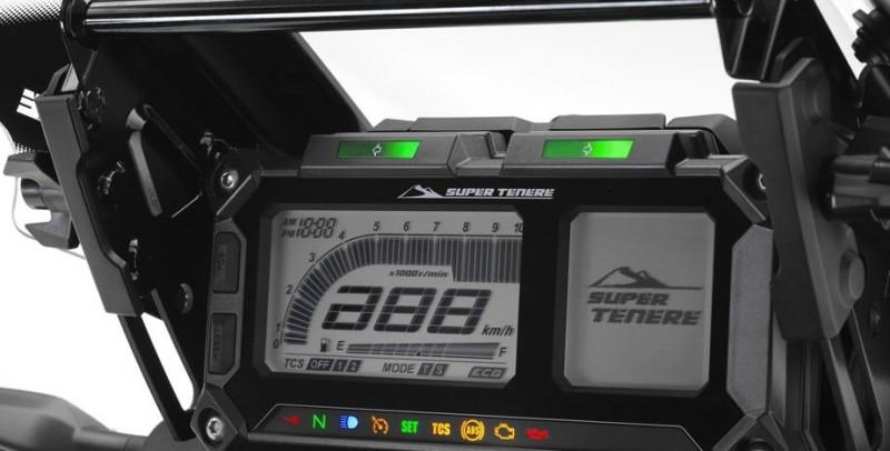 หน้าปัดเรือนไมล์แบบ DIGITAL FULL LCD ให้ความคมชัดทุกเวลา จอแสดงผมความเร็ว รอบเครื่องยนต์ ระดับความร้อน นาฬิกา ระยะทาง