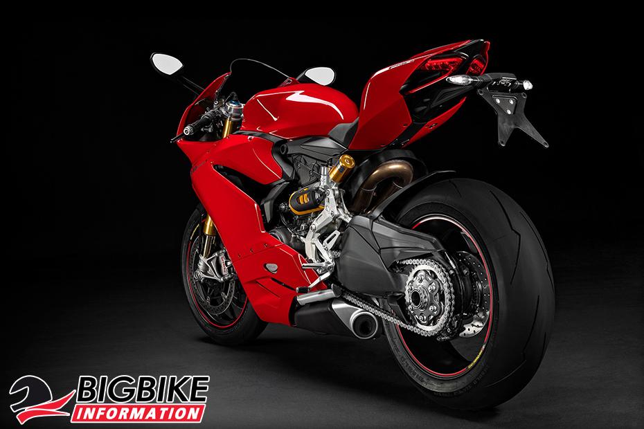 ภาพ Ducati 1299 Panigale S สีแดง ด้านหลัง