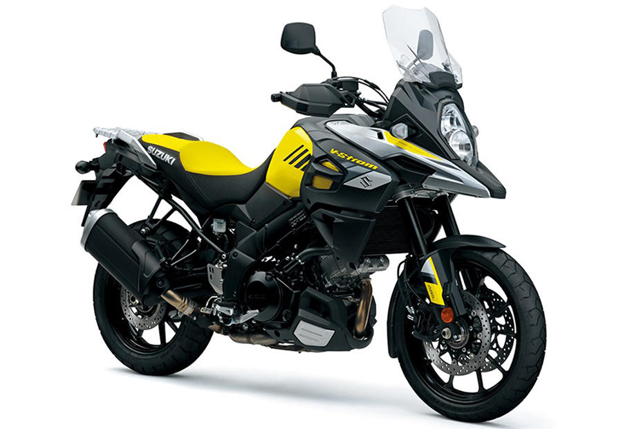 Suzuki V-Strom 1000 ABS สีเหลือง