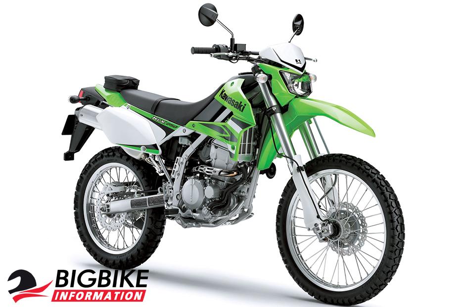 คาวาซากิ เคแอลเอ็กซ์ 250 สีเขียว ปี 2017