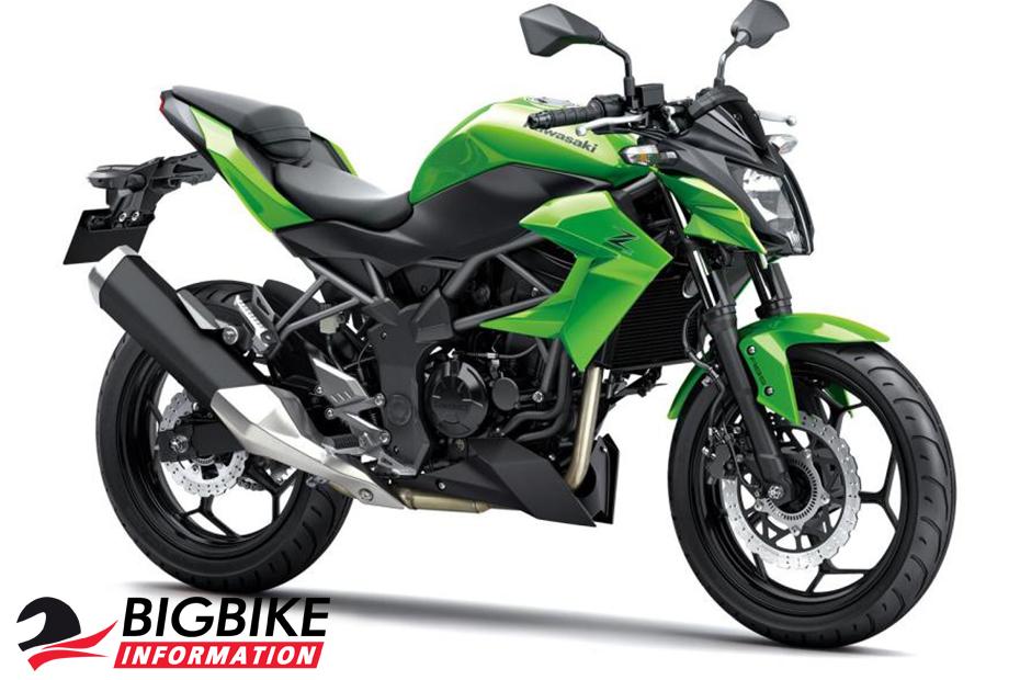 คาวาซากิ แซด 250 เอสแอล ปี 2014 สีเขียว-ดำ