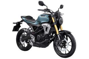 ภาพ Honda CB150R สีฟ้า