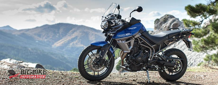 ภาพ TRIUMPH TIGER 800 XRX สีน้ำเงิน ด้านข้าง