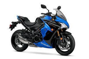 Suzuki GSX-S1000F สีน้ำเงิน