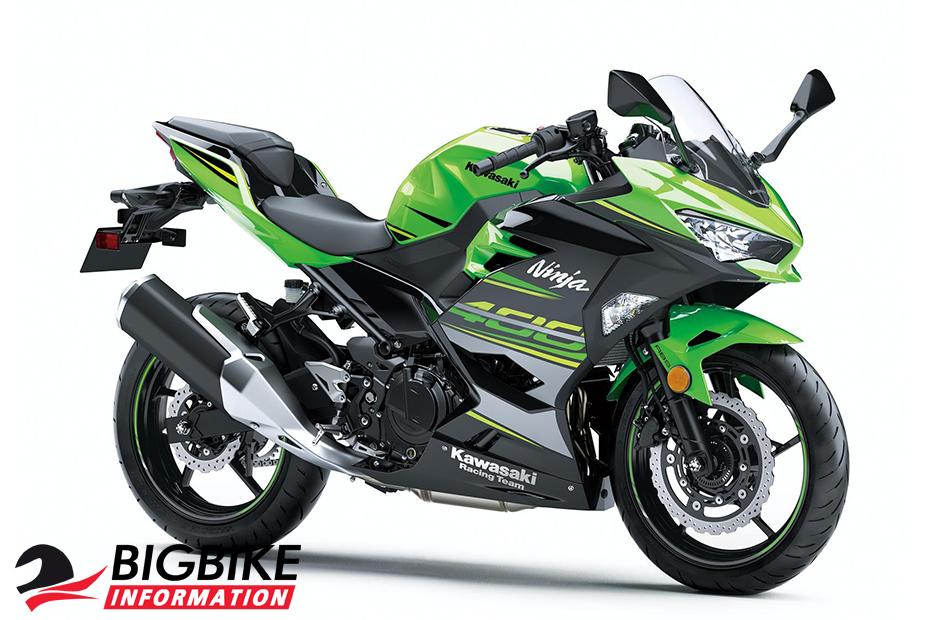 All New Kawasaki Ninja 400 สีเขียว (KRT Edition)