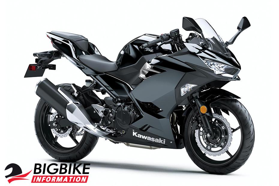 All New Kawasaki Ninja 400 สีดำเมทัลลิสปาร์ค