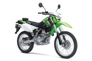 ภาพ Kawasaki KLX 250 สีเขียว
