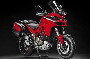 ภาพ Ducati Multistrada 1200Enduro สีแดง ด้านหน้า