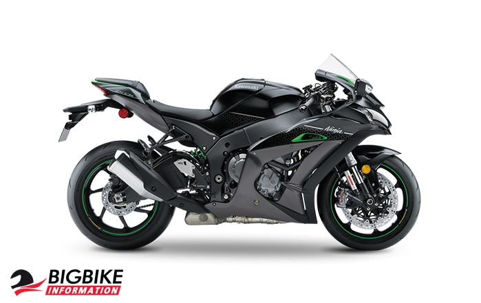 สี Kawasaki Ninja ZX-10R SE ปี 2018