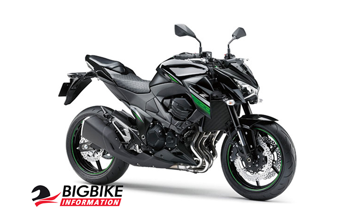 คาวาซากิ แซด800 สีดำเขียว ปี 2016 (ยกเลิกจำหน่ายแล้ว)