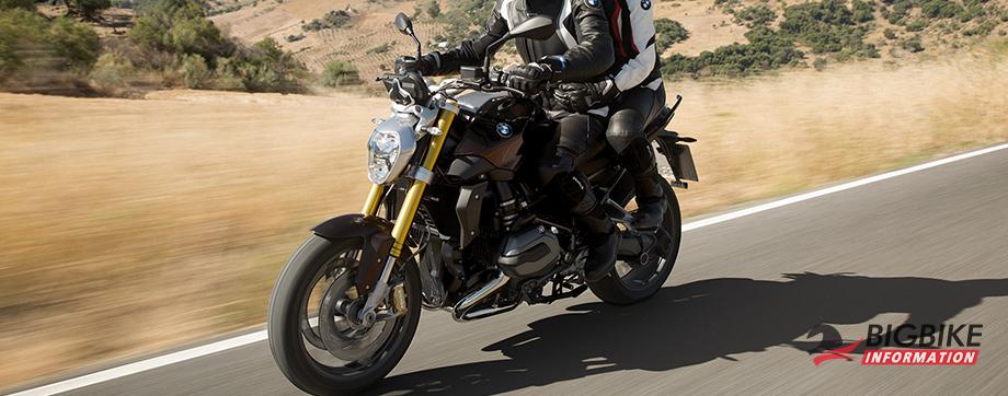 ภาพ BMWR 1200 R สีดำ ด้านข้าง