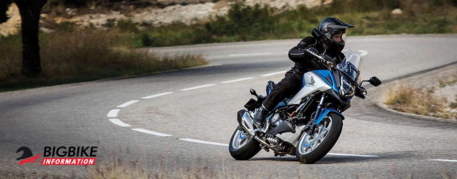 ภาพ Honda NC750X สีน้ำเงิน