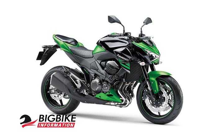 คาวาซากิ แซด800 สีเขียวดำ ปี 2015 (ยกเลิกจำหน่ายแล้ว)