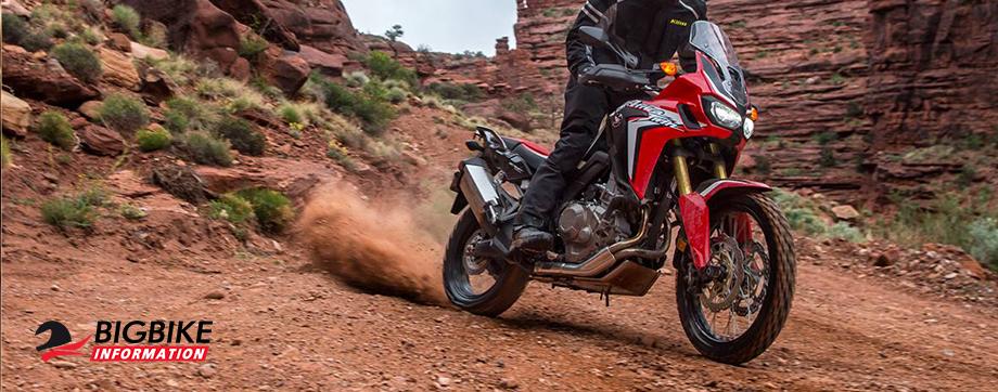 ภาพ Honda Africa Twin CRF1000L สีแดง