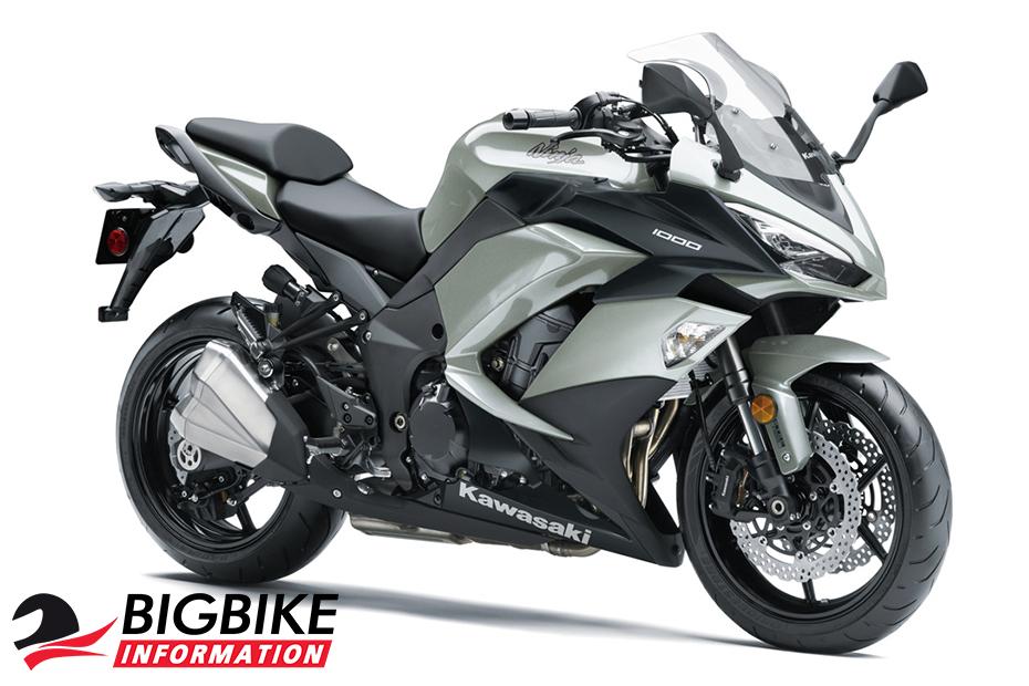 ภาพ Kawasaki Ninja 1000 ABS สีเทา